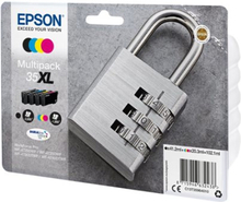 Epson 35XL Multipack - 4-pack - XL - svart, gul, cyan, magenta - original - blekkpatron - for WorkForce Pro WF-4720, WF-4720DWF, WF-4725DWF, WF-4730,