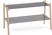 Twist skohylla Vitoljad ek 75 x 35 cm