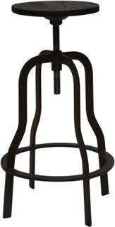 Vegas barstol svart trä/metall