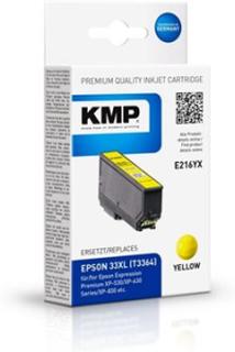 KMP 1633,4009, Compatible, Pigmentbasert blekk, Gult, Epson, Epson Expression Premium XP-530 Epson Expression Premium XP-540 Epson Expression Premium