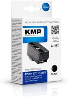 KMP 1633,4001, Compatible, Pigmentbasert blekk, Svart, Epson, Epson Expression Premium XP-530 Epson Expression Premium XP-540 Epson Expression Premiu
