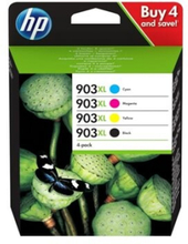 HP 903XL - 4-pack - Høy ytelse - svart, gul, cyan, magenta - original - blekkpatron - for Officejet 69XX; Officejet Pro 69XX