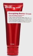 Recipe for men Energizing Bronze Cream 75ml Brons