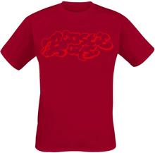 Beastie Boys - Graffiti Logo -T-skjorte - rød