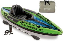 Intex oppustelig kajak Challenger K1 274 x 76 x 33 cm 68305NP