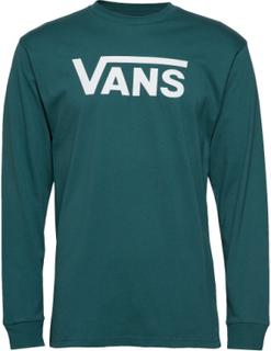 Mn Vans Classic Ls Vans Trekking G T-shirts Sweat-shirts Grønn VANS