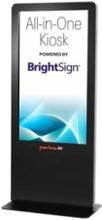 Peerless-AV All-in-One Kiosk Powered by BrightSign