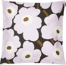 Pieni Unikko tyynynpäällinen 45x45 cm tummanvihreä-vaaleanpunainen