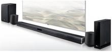 LG SJ4R Bluetooth 4.1 Soundbar med subwoofer og trådløse baghøjttalere - 420W