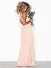 NLY Eve Pleated Lace Gown Maxiklänningar