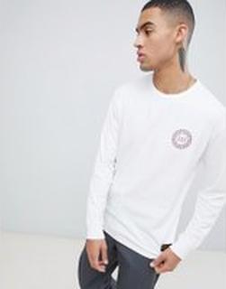 Levis - Skateboarding - Vit långärmad t-shirt med logga - Vit