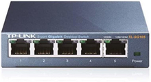 TP-LINK , nätverksswitch, 5-ports 10/100/1000Mbps, RJ45, metall