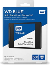 """Western Digital Hårddisk WDS500G2B0A 2.5"""" 500 GB SSD"""