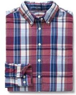 Ruter Gant Winter Flanell Skjorte Skjorte