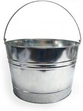 Ölhink med handtag av metall