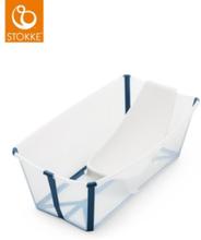 Stokke Flexi Bath Bundle med Värmekänslig Propp (Vit)