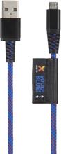 Xtorm Xtorm Solid Blue Micro USB, 1m Kevlar 8718182273564 Replace: N/AXtorm Xtorm Solid Blue Micro USB, 1m Kevlar