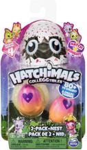 Hatchimals Colleggtibles 2 pack med nest - sesong 4