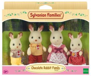 Sylvanian Families Sjokoladekanin Familien 4150