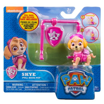 Paw Patrol Action Pack Pull Back Pup - Skye