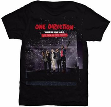 One Direction;One Direction: Ladies Tee/San Siro Movie (Large)