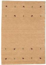 Gabbeh loom Two Lines - Beige matta 140x200 Orientalisk Matta