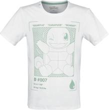Pokemon - Schiggy -T-skjorte - hvit