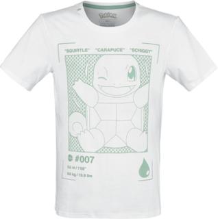Pokémon - Schiggy -T-skjorte - hvit