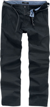 Shine Original - Bryan Stretch Chino -Chino-bukser - svart