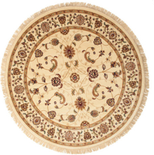 Sarina - Beige matta Ø 200 Orientalisk, Rund Matta