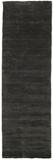 Handloom fringes - Svart / Grå matta 80x250 Modern
