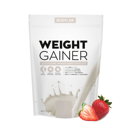 Bodylab Weight Gainer (1,5 kg) - Strawberry Milkshake