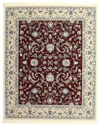 Nain Florentine - Mörk Röd matta 250x300 Orientalisk Matta