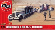 Airfix 88mm Gun & Sd Kfz7 Tractor 1:76