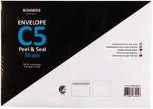 Büngers Kuvert Peel & Seal C5 500 st kuvert