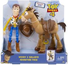 Mattel Toy Story 4 - Woody & Bullseye Adventure Pack
