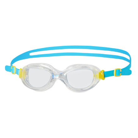 Speedo Futura Classic Junior Svømmebriller Blue/Clear