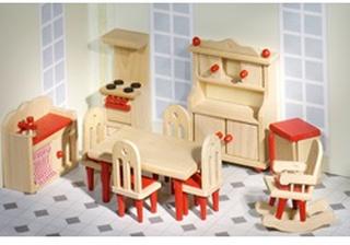 Goki Poppenhuismeubel - Keuken