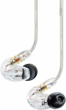 Shure Sound Isolation headphones, in-ear (SE215 - clear)
