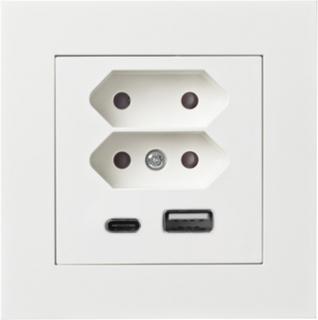 2 USB uttag & 2 EUR uttag - Elko Plus