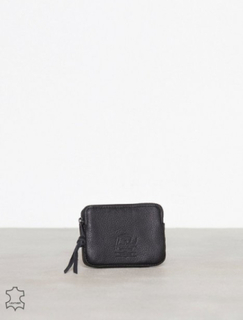 Herschel Oxford Pouch Leather RFI Lommebøker Black