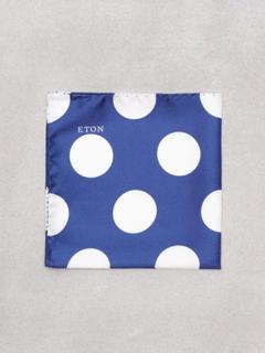 Eton Pocket Square Näsdukar Blå