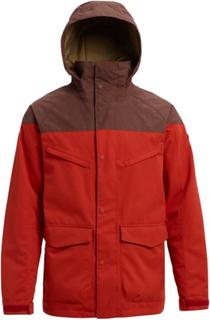 Burton Men's Burton Breach Insulated Jacket Herr Skidjacka Röd S
