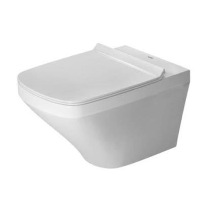 Duravit DuraStyle Rimless vegghengt toalett m/wondergliss & skjult montering, hvit