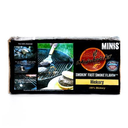 """Rökbricketter """"Mojobricks Minis"""", Hickory"""