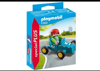 Playmobil 5382 - Pojke med gokart