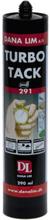 Dana Lim Turbo Tack 291 monteringslim, hvit, 290 ml