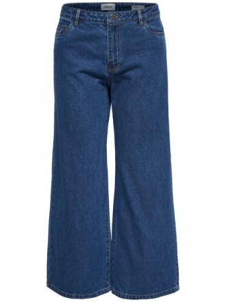 ONLY Sonny Hw Wide Flared Jeans Women Blue