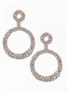 Glamorous Circle Drop Earrings Örhängen Gold