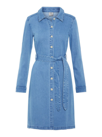 VERO MODA Denim Dress Women Blue